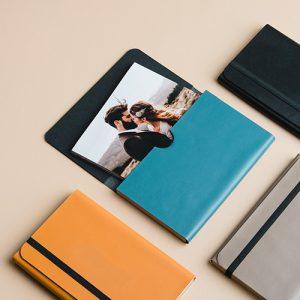 Sobres para entregar fotografías. Packaging para fotos